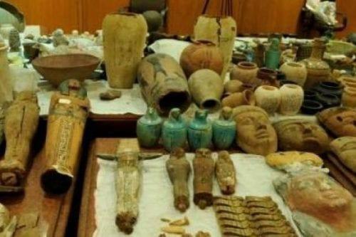 Se interviene un cargamento de antigüedades egipcias de contrabando con…