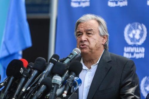 El secretario general de la ONU espera que las conversaciones…