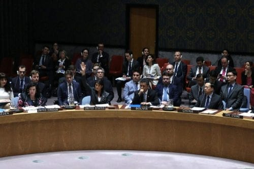 La comunidad internacional no debe permanecer al margen mientras Israel…