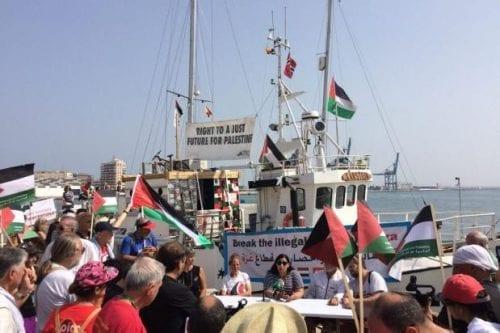 La Flotilla de la Libertad abandona España rumbo a Italia
