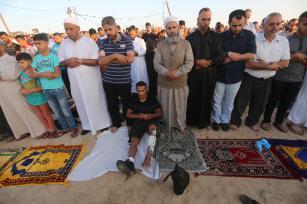 """""""Aid al-Fitr"""" (fiesta del fin de Ramadán) en Gaza"""