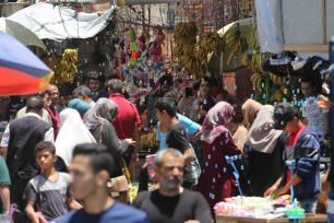 Día del Aid al-Fitr (fin de Ramadán) en Gaza