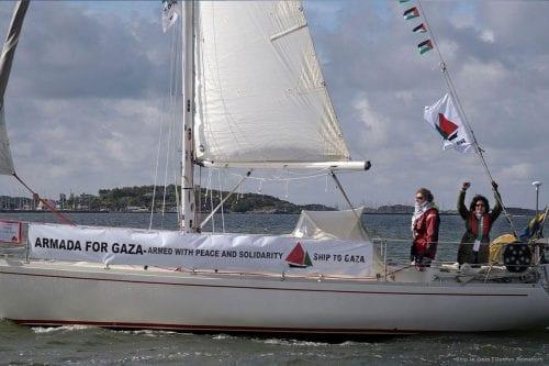 """La Flotilla de la Libertad sueca: """"La gente de Gaza…"""