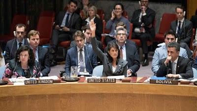 Protección de civiles en Palestina y el veto de Estados…