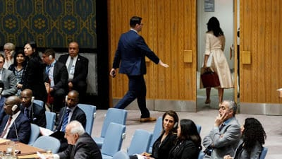 La abrumadora condena de la Asamblea General de Naciones Unidas…