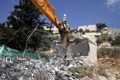 63 edificios palestinos demolidos por Israel en Jerusalén en lo…