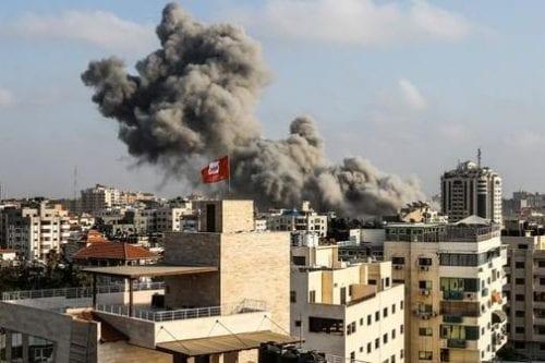 Imágenes del ataque israelí sobre Gaza