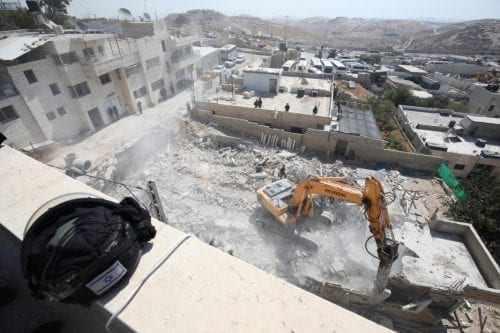Israel demuele una casa palestina en Jerusalén Este