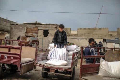 El PMA reduce las ayudas a los palestinos debido a…
