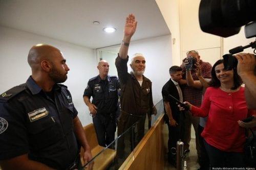 2018 7 5 Raed Salah appears in cout20180705 2 31295520 35343304 500x333 - Un país, dos leyes: bienvenido al 'estado judío' de Israel