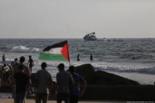 Israel dispara contra el barco de la Flotilla en Gaza