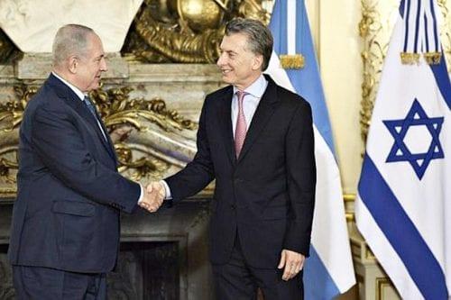 Netanyahu encuentra un aliado en el argentino Mauricio Macri