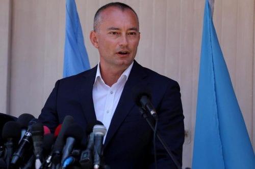 """Enviado de la ONU: """"Todavía estamos lejos de un intercambio…"""