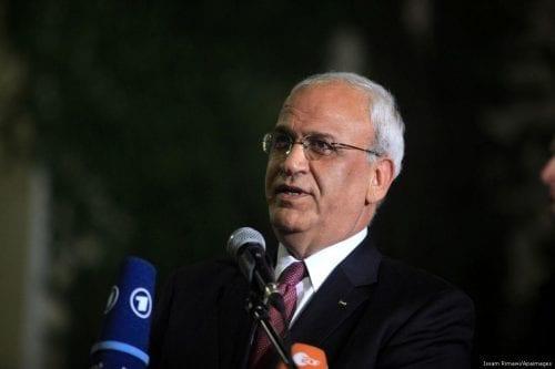 Erekat elogia a Chile por defender los derechos palestinos