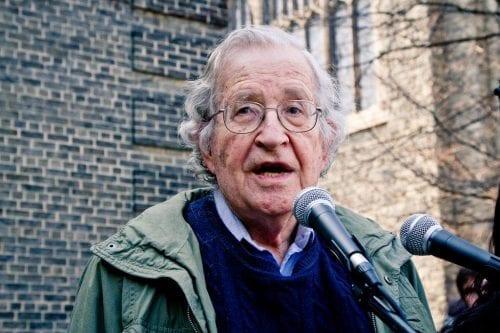 Chomsky y la falta de honestidad de la solución de…