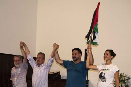 Crónica del acto con Bassem Tamimi en Sevilla