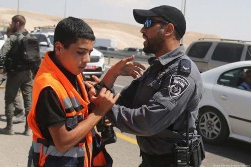 Fuerzas israelíes irrumpen en Khan Al-Akhmar