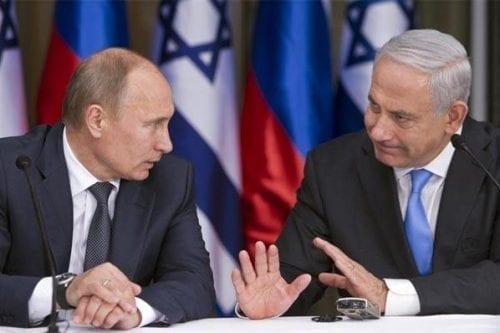 Enfrentamiento entre Rusia e Israel en Siria