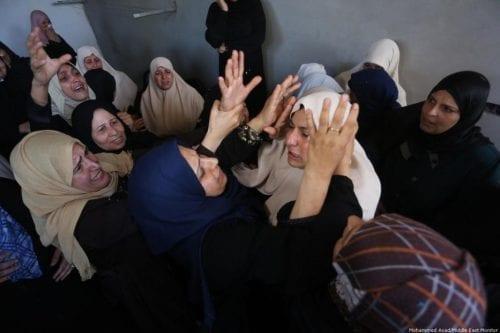 Otro joven palestino es asesinado en Gaza por las fuerzas…
