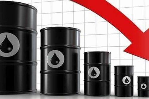 Los precios del petróleo caen por efecto de las sanciones…