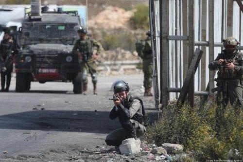 El ejército israelí mata a un palestino en Cisjordania