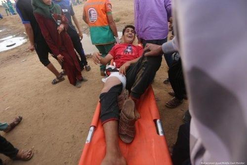 MSF: 1.000 habitantes de Gaza heridos por fuego israelí en…