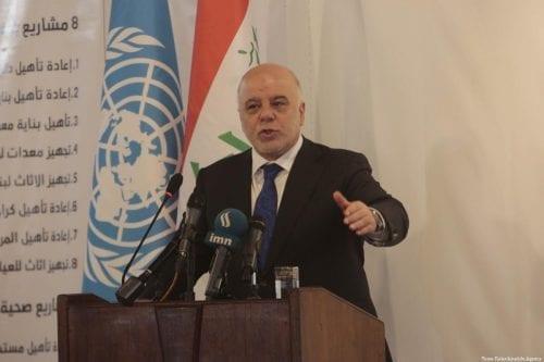 Iraq suspenderá las resoluciones de gobiernos anteriores