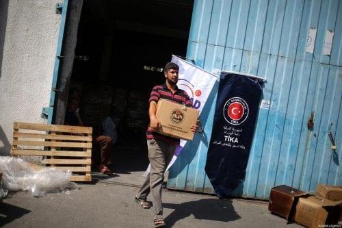 La Media Luna Roja de Turquía envía 8,5 toneladas de…