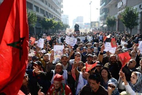 Tres sindicatos abandonan las conversaciones con el gobierno marroquí