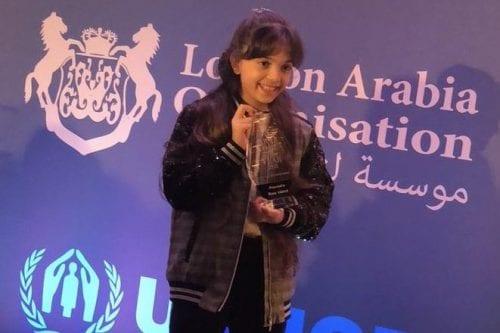 Bana Alabed recibe el premio a la mujer árabe del…