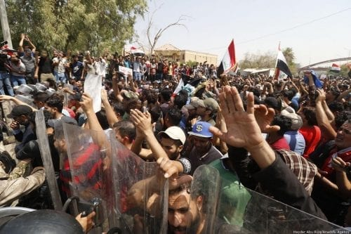 Irak: Multitudinarias manifestaciones en Basora