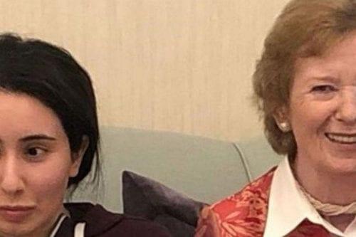 Reaparece la princesa de Dubai que había denunciado su secuestro