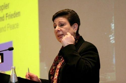 """Ashrawi: """"El apartheid israelí es una amenaza para la paz…"""