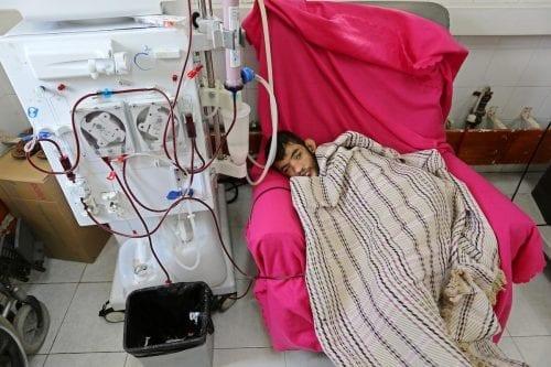 Los servicios de salud de Gaza en peligro por causa…
