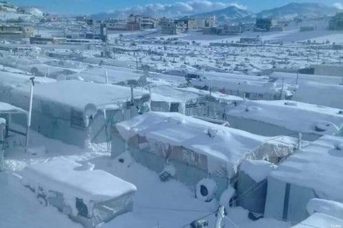 La población refugiada siria abandona los campamentos en Líbano que…