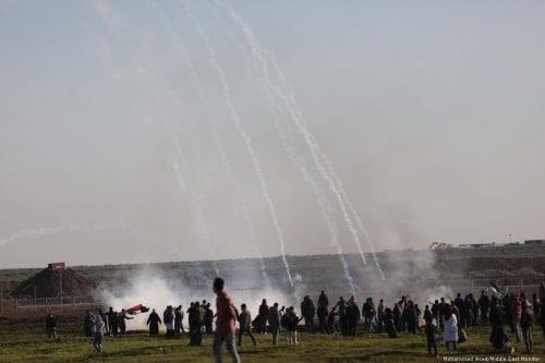 El ejército israelí asesina a un manifestante palestino en Gaza