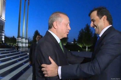 """Erdogan: """"Turquía y Catar van a profundizar su cooperación"""""""