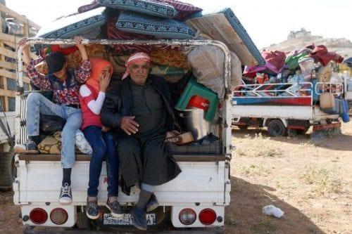 Los refugiados sirios en el Líbano siguen enfrentándose al invierno…