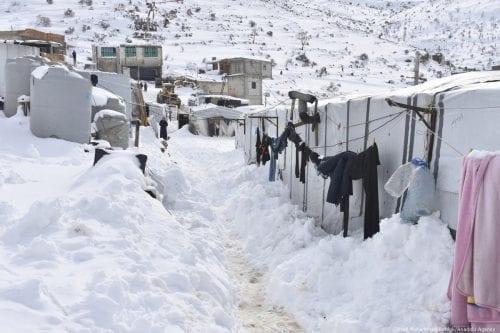 UNICEF: 15 menores sirios muertos por el clima extremo