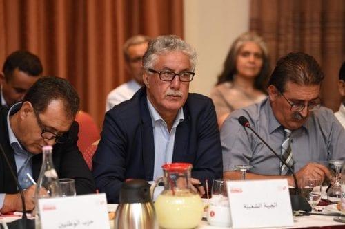 """Opositor tunecino: """"Tenemos que unificar las protestas para derrocar al…"""