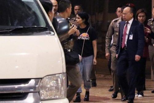 La joven saudí abandona el aeropuerto de Bangkok con Naciones…