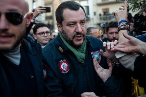 Ministro del Interior italiano: 393 migrantes devueltos a Libia