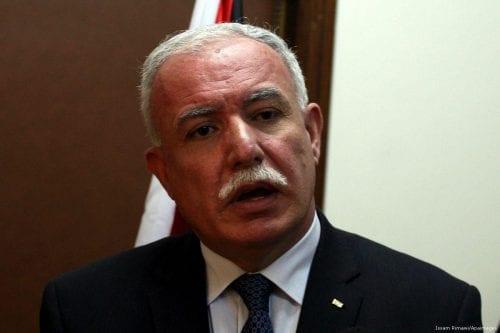 La Autoridad Palestina pide a la UE que intervenga después…