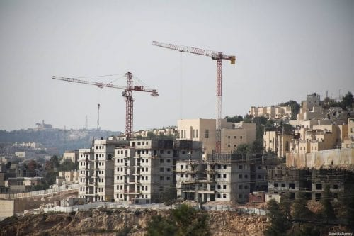 """Israel intensifica la """"red de asentamientos"""" alrededor de la Ciudad…"""