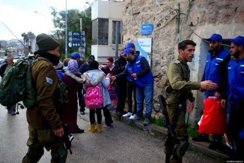 Colonos israelíes atacan una escuela palestina en Cisjordania