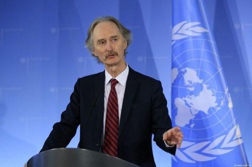 """El enviado de la ONU a Siria: """"Debates serios podrían…"""