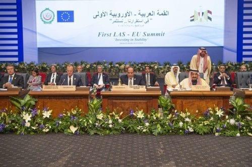 La mitad de los líderes árabes no asistieron a la…