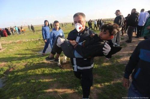 Israel mata a 2 manifestantes, entre ellos un niño, en…