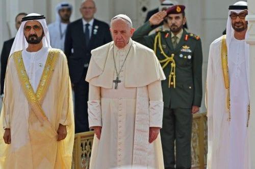 """El Papa dice que encontró """"buena voluntad"""" en los líderes…"""