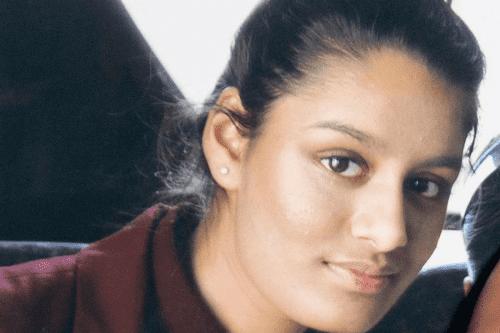 Una adolescente que se unió al grupo Daesh en Siria…